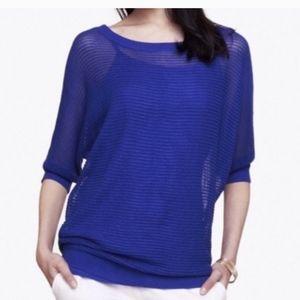 Express Mesh Dolman Sweater Small